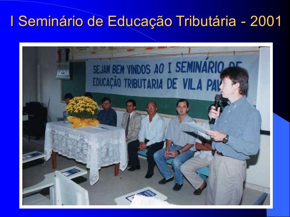 I Seminário de Educação Tributária - 2001