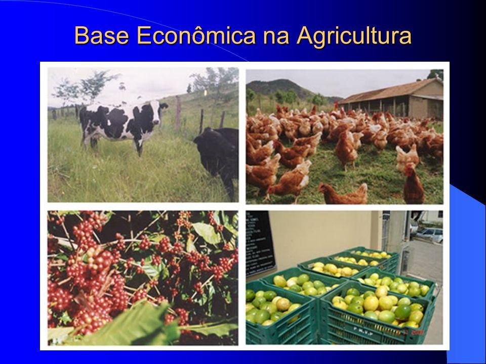 Base Econômica na Agricultura
