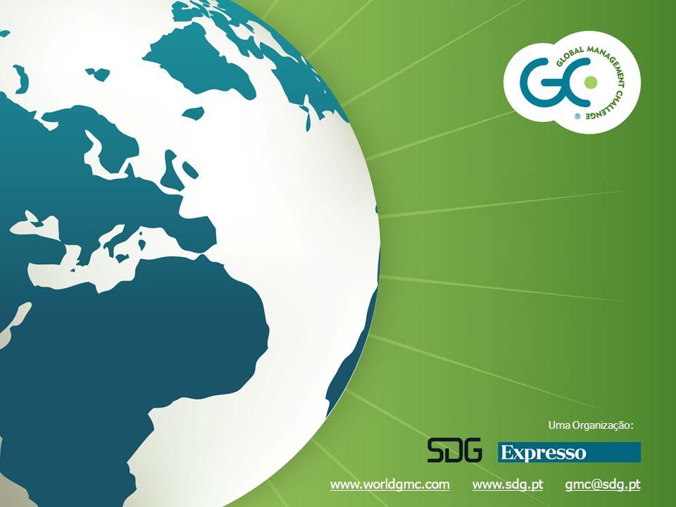 www.worldgmc.comwww.worldgmc.com www.sdg.pt gmc@sdg.ptwww.sdg.ptgmc@sdg.pt Uma Organização: