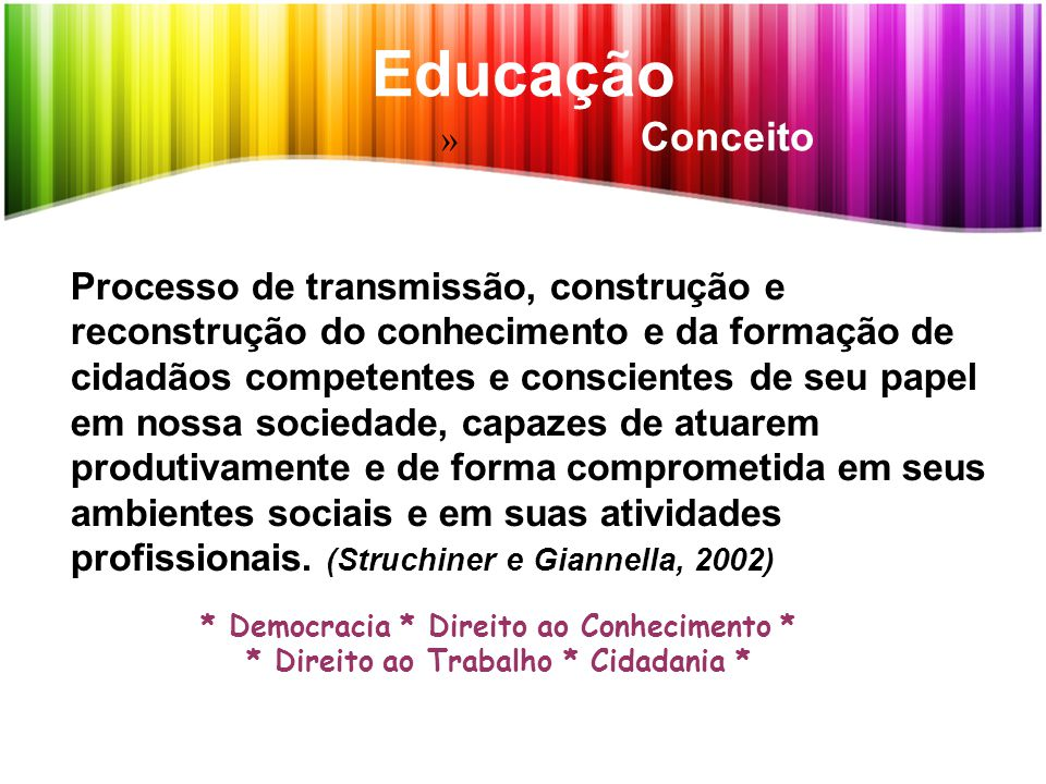 Tecnologia Educacional Identidades, Conceitos e Sentidos Tecnologia educacional.