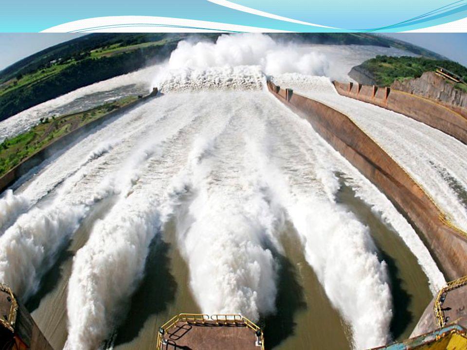 ORIGEM: Normalmente constroem-se diques que represam o curso da água, acumulando-a num reservatório a que se chama barragem.