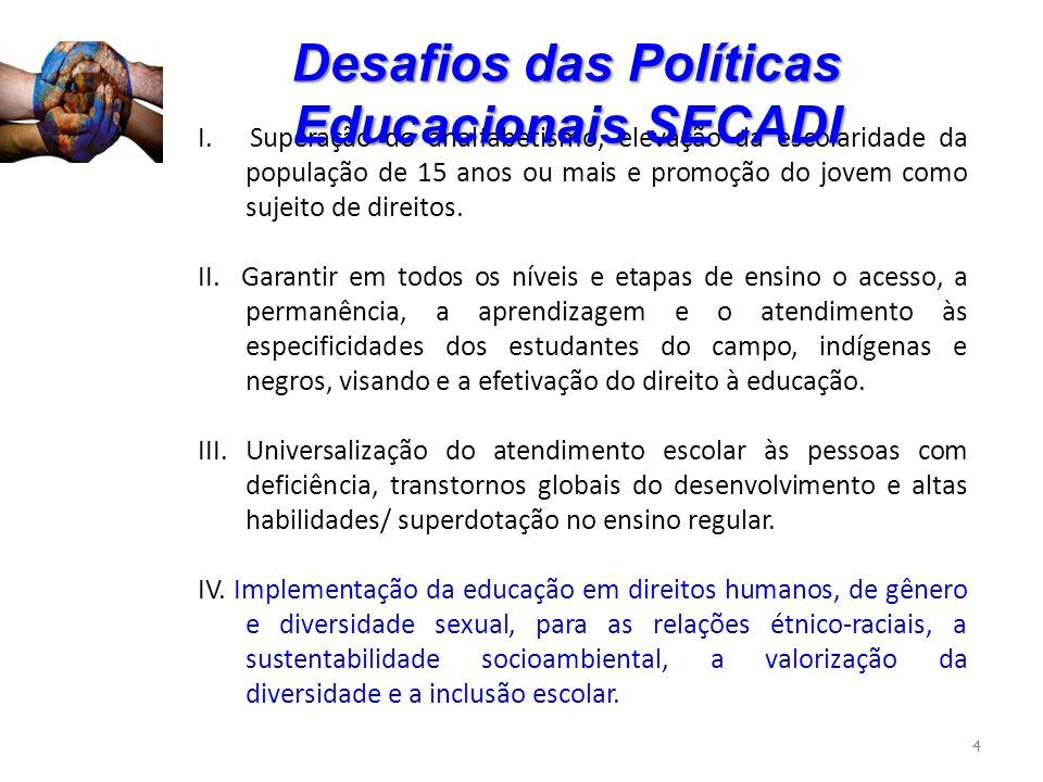 5 Fortalecimento da Educação :Desafios e perspectivas.