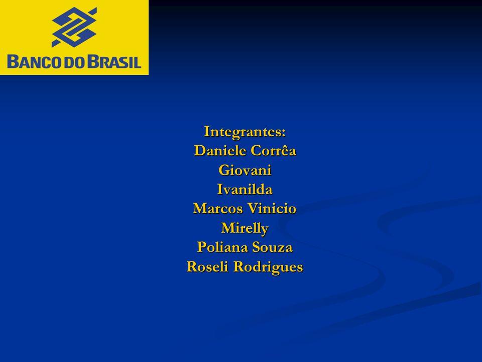 Integrantes: Daniele Corrêa GiovaniIvanilda Marcos Vinicio Mirelly Poliana Souza Roseli Rodrigues