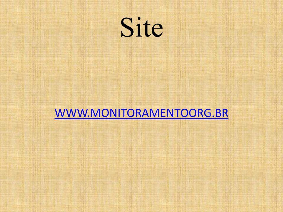 Site WWW.MONITORAMENTOORG.BR