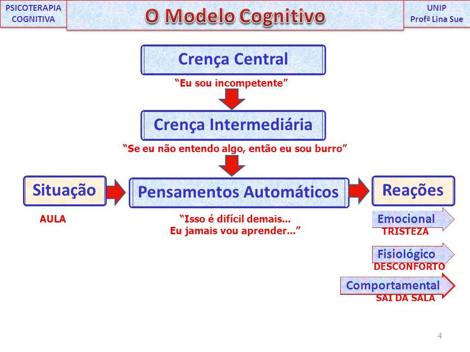 O T.C.e o paciente podem identificar vários P.A. numa sessão.