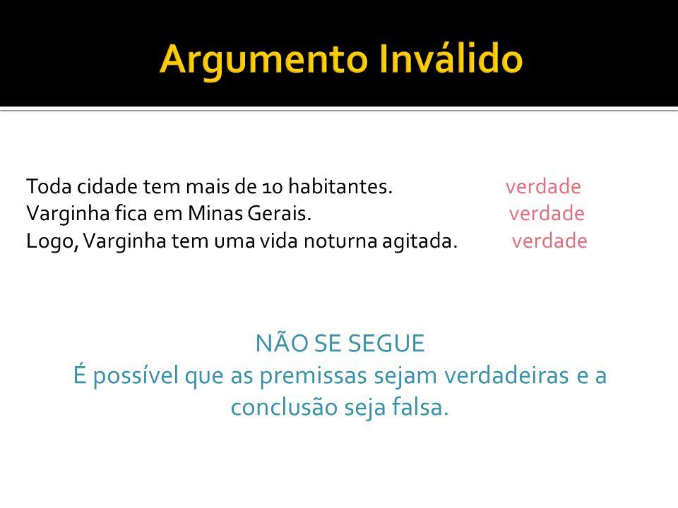 Toda cidade tem mais de 10 habitantes. verdade Varginha fica em Minas Gerais.