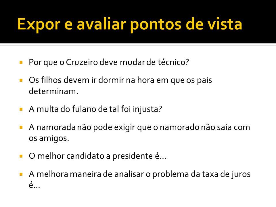  Por que o Cruzeiro deve mudar de técnico.