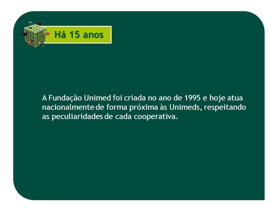 A Fundação Unimed foi criada no ano de 1995 e hoje atua nacionalmente de forma próxima às Unimeds, respeitando as peculiaridades de cada cooperativa.