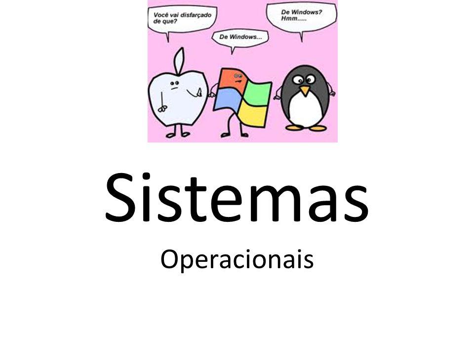 Definição Um Sistema Operacional é um programa ou um conjunto de programas cuja função é gerenciar os recursos do sistema ( definir qual programa recebe atenção do processador, gerenciar memória, criar um sistema de arquivos, etc.), fornecendo uma interface entre o computador e o usuário.
