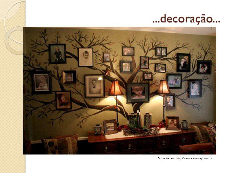 ...decoração... Disponível em: http://www.artconcept.com.br