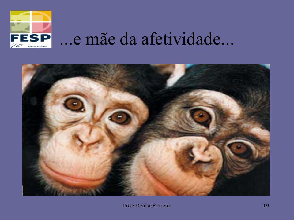 Profª Denise Ferreira19...e mãe da afetividade...