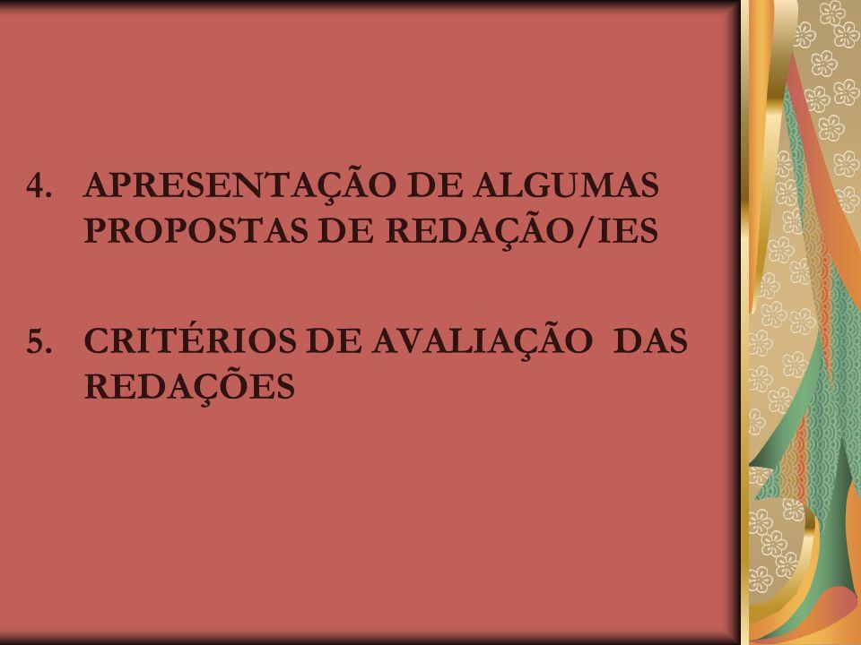 1.A REDAÇÃO 2008 1.1. MUDANÇAS: a) Prova independente b) Produção de mais de um texto 2. AS ORIENTAÇÕES CURRICULARES PARA O ENSINO MÉDIO (OCEM, 2006)