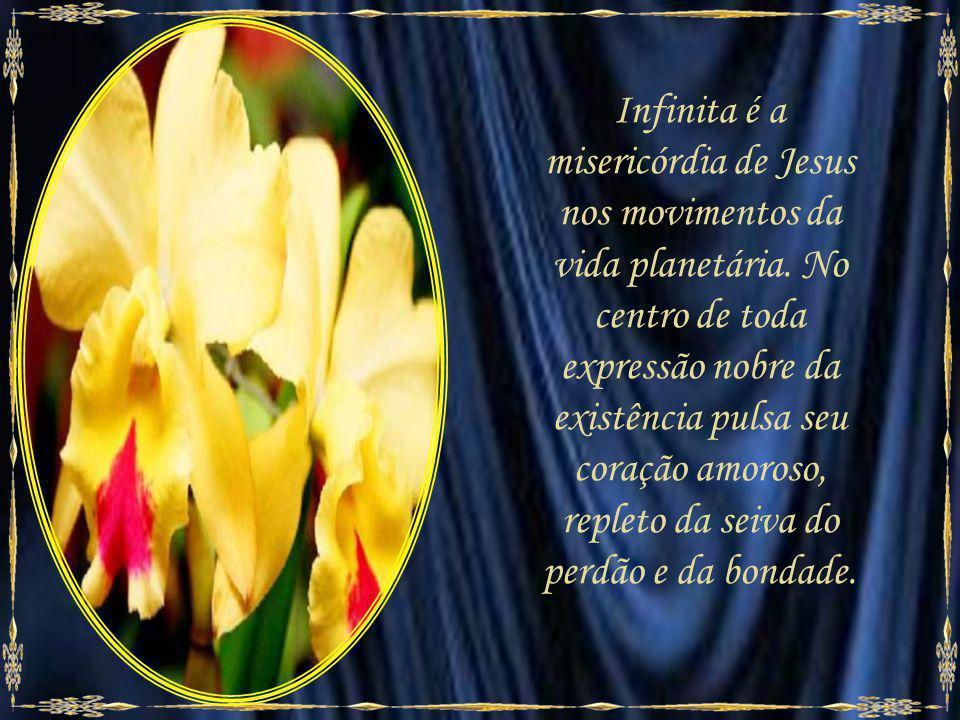 Infinita é a misericórdia de Jesus nos movimentos da vida planetária.