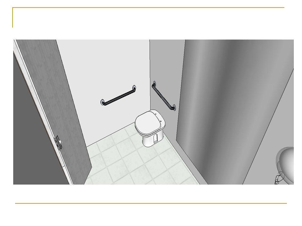 Conclusão Trocamos todas as portas para aumentar os vão que não eram adequados para acessibilidade universal.
