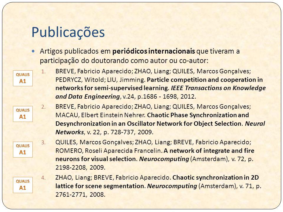 Publicações Artigos publicados em periódicos internacionais que tiveram a participação do doutorando como autor ou co-autor: 1.