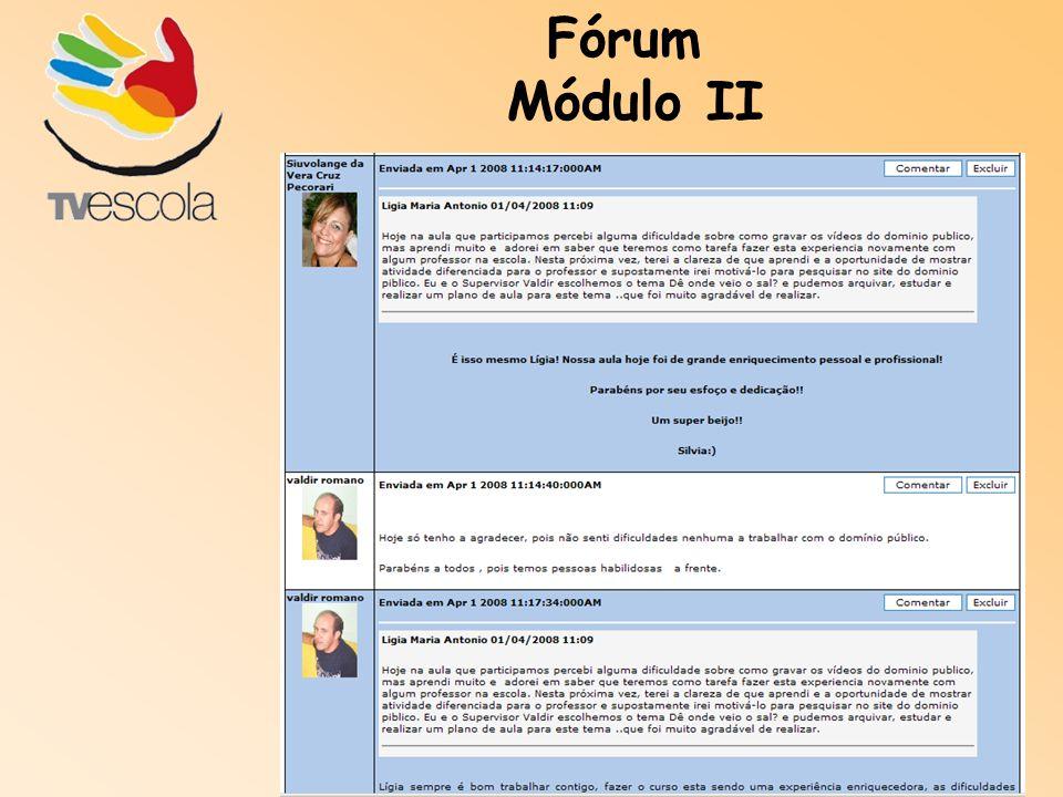Fórum Módulo II