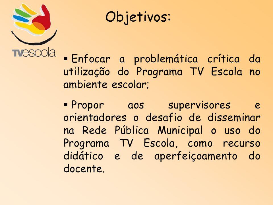 10/03 a 29/08/2008 Carga horária: 60h Ambiente: e-Proinfo (disponibilizado pela SEED/MEC) Período: