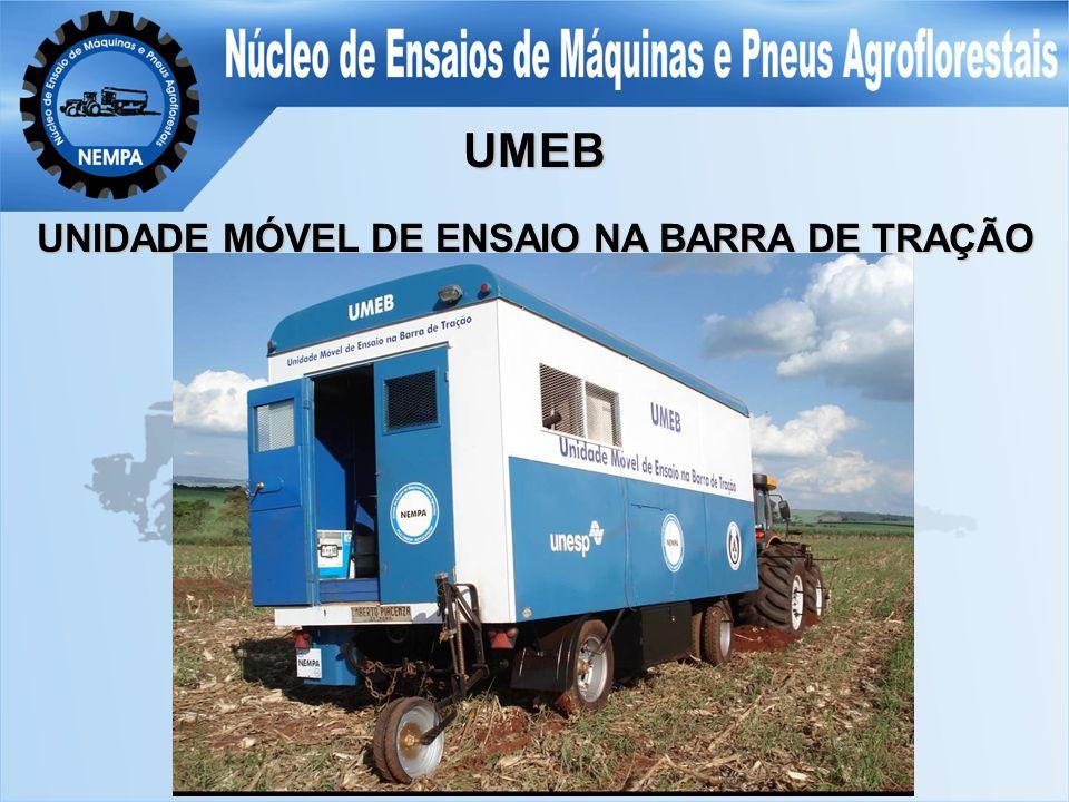 UMEB UNIDADE MÓVEL DE ENSAIO NA BARRA DE TRAÇÃO