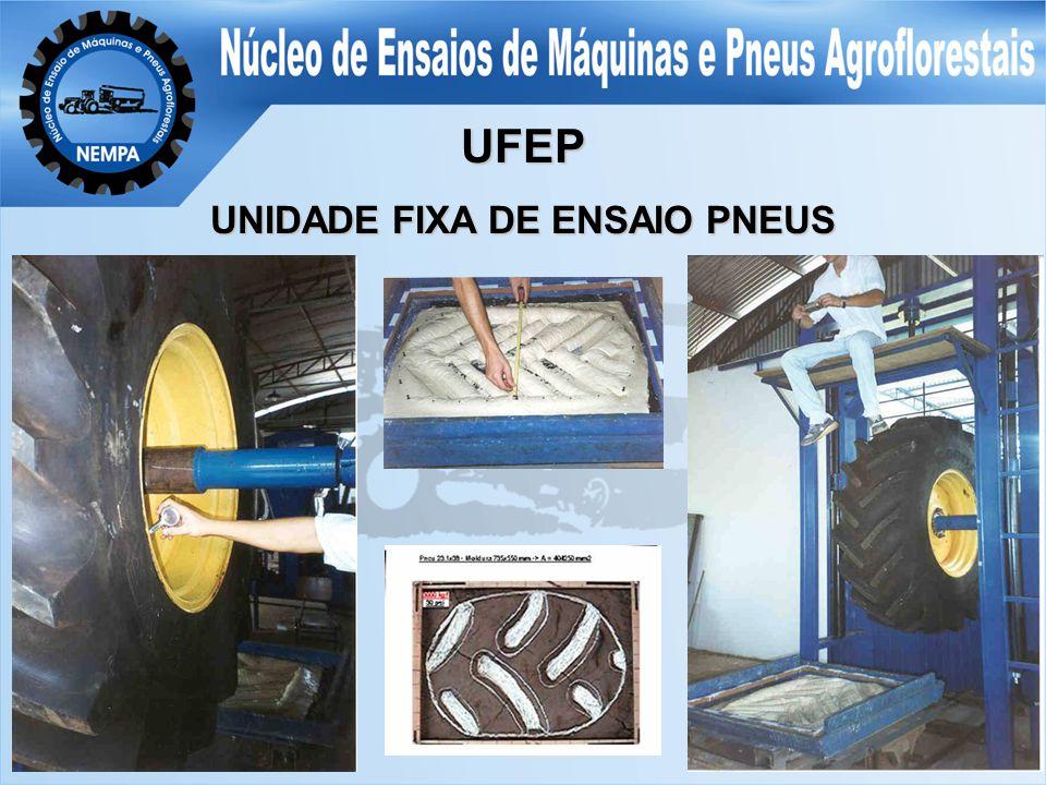 UFEP UNIDADE FIXA DE ENSAIO PNEUS