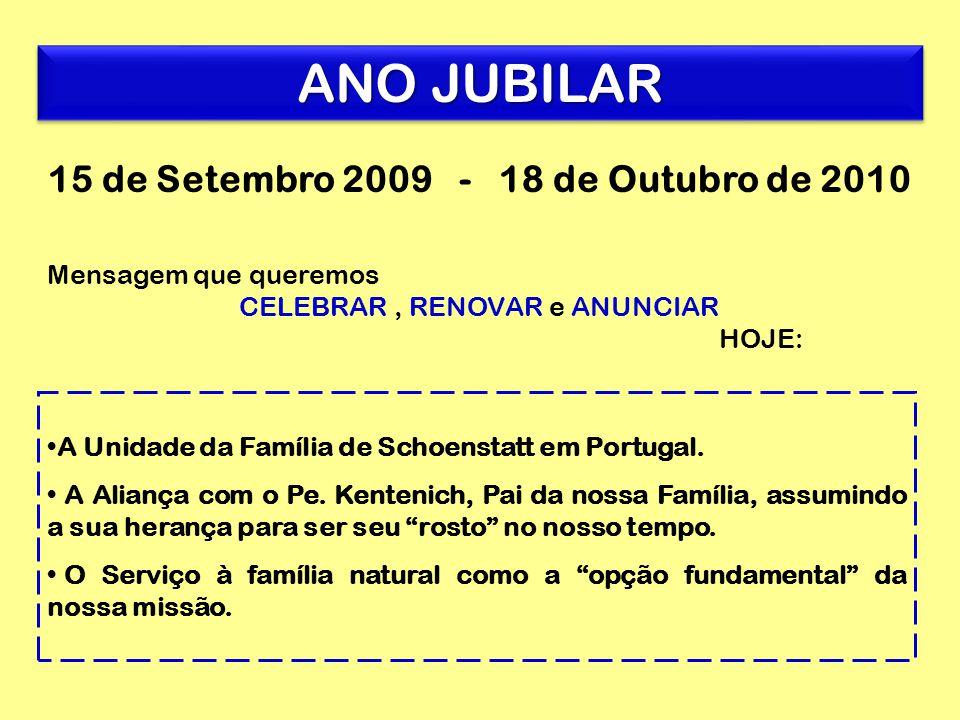 A Unidade da Família de Schoenstatt em Portugal. A Aliança com o Pe.