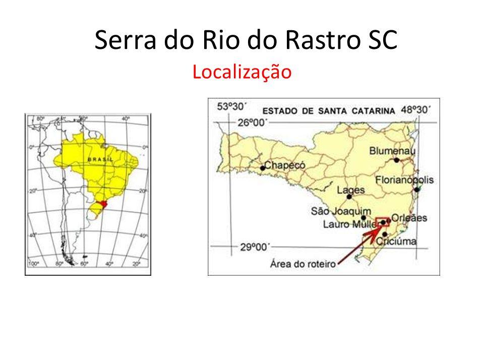 Serra do Rio do Rastro SC Localização