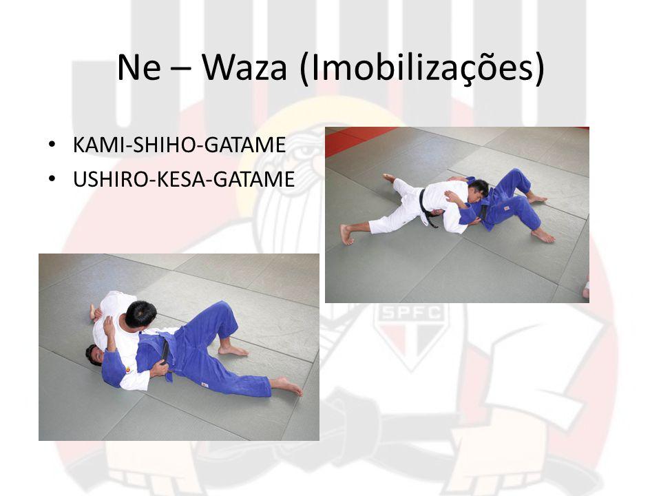 Ne – Waza (Imobilizações) KAMI-SHIHO-GATAME USHIRO-KESA-GATAME