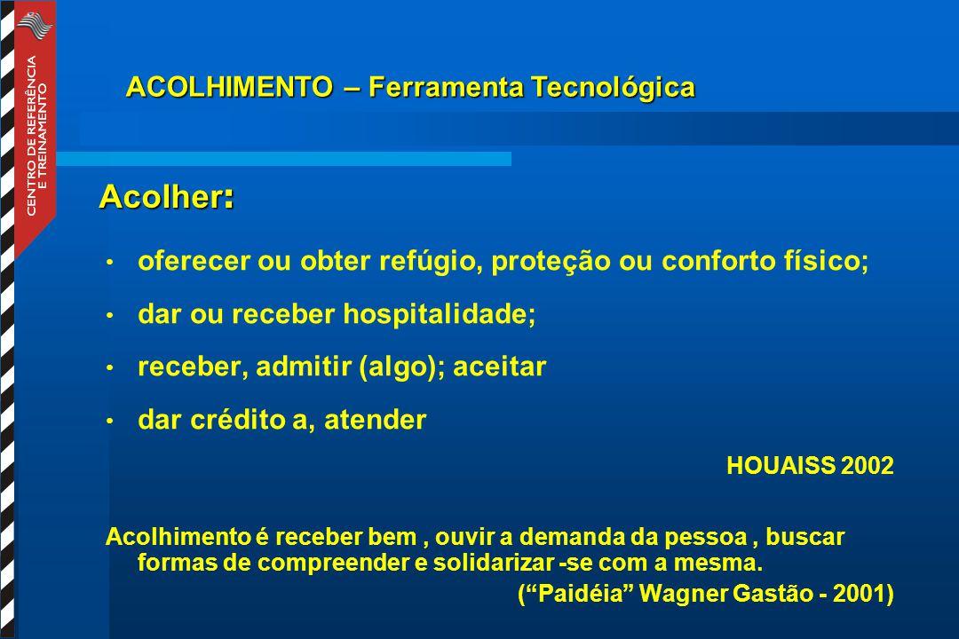 OBJETIVOS: Qualificar a relação trabalhador da saúde/ educação/ recursos da comunidade/cuidador/paciente - parâmetros da humanização.