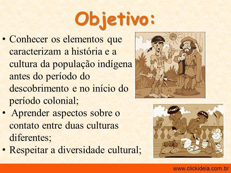 Desenvolvimento: 1ª Aula: -Iniciar a aula com dois curtas: Pajerama e Som da Rua – Índios .