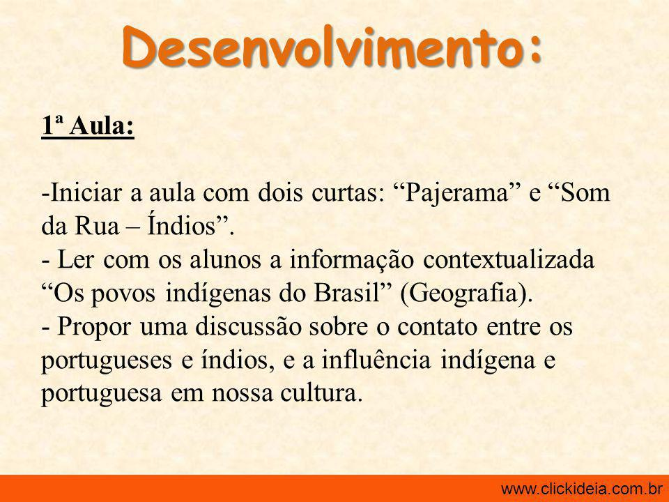 Informação Contextualizada: www.clickideia.com.br