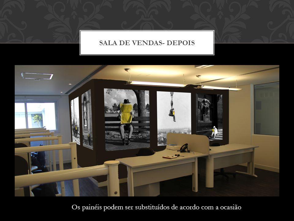 SALA DE VENDAS - ANTES