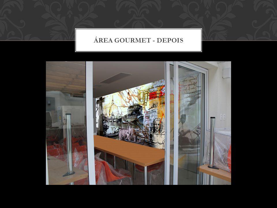 ÁREA GOURMET - ANTES