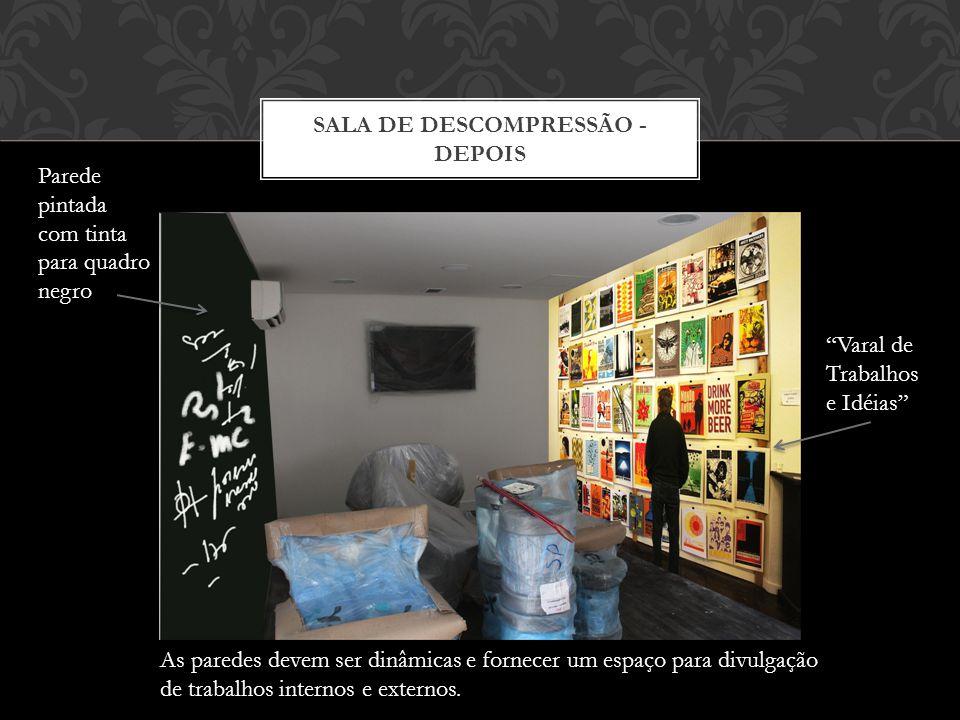 SALA DE DESCOMPRESSÃO - ANTES