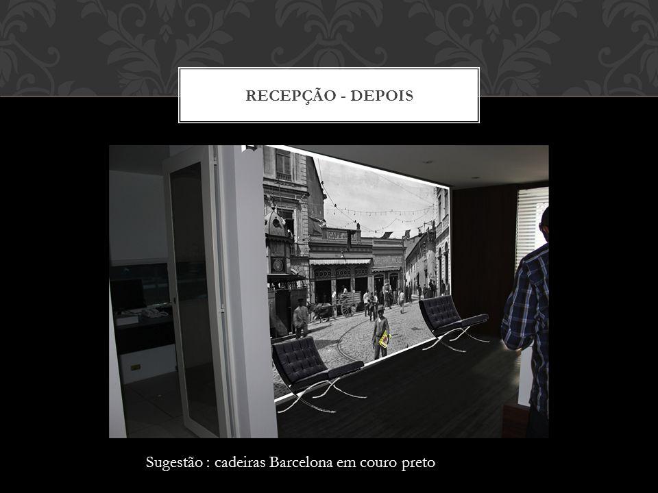 RECEPÇÃO - ANTES
