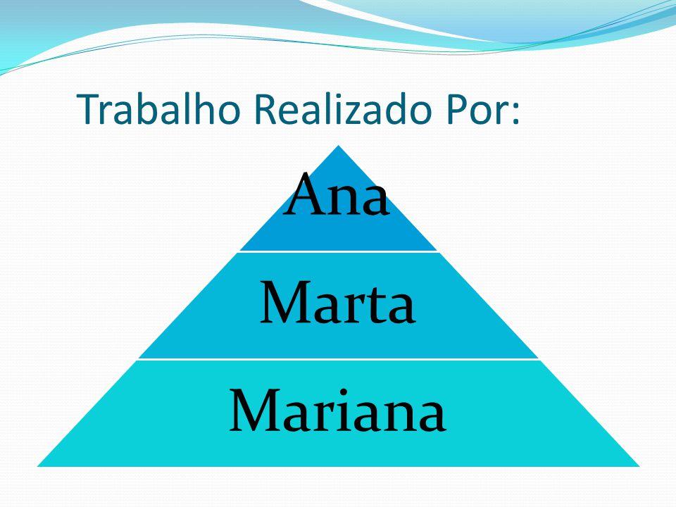 Trabalho Realizado Por: Ana Marta Mariana