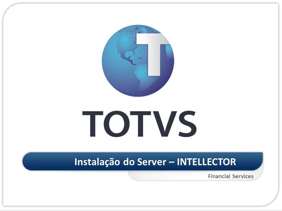 Financial Services Instalação do Server – INTELLECTOR Inteligência de Crédito Instalação do Server – INTELLECTOR