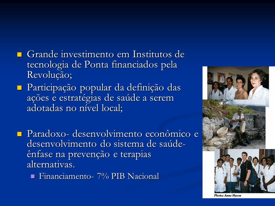 Grande investimento em Institutos de tecnologia de Ponta financiados pela Revolução; Grande investimento em Institutos de tecnologia de Ponta financia