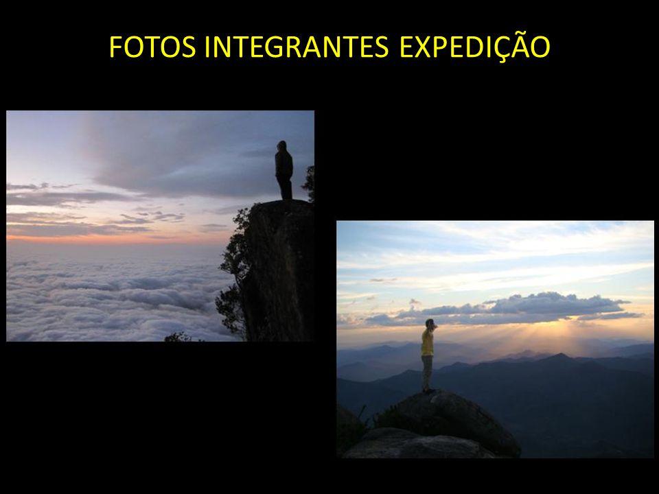 FOTOS INTEGRANTES EXPEDIÇÃO