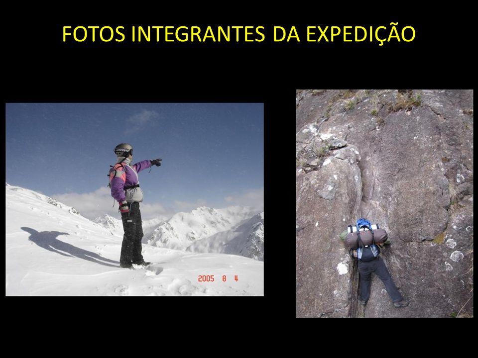 FOTOS INTEGRANTES DA EXPEDIÇÃO