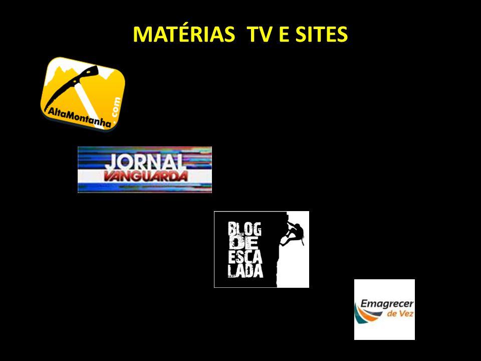 MATÉRIAS TV E SITES