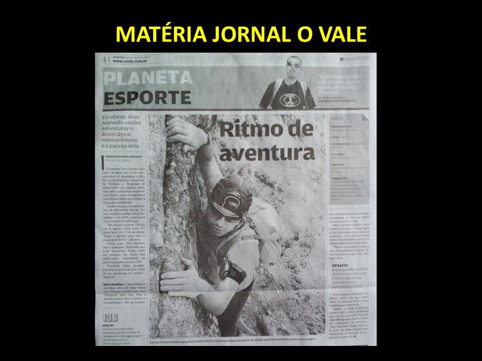 MATÉRIA JORNAL O VALE