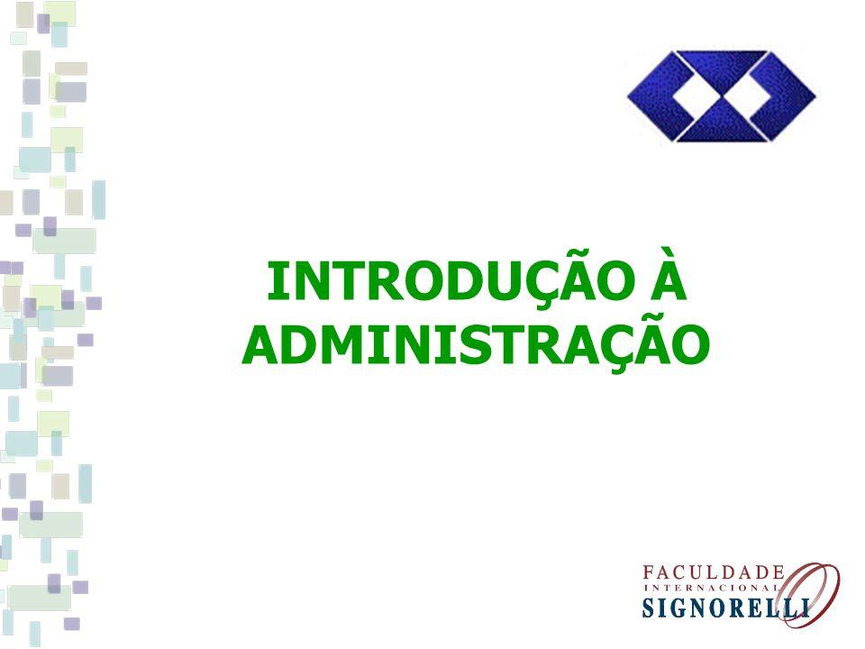 UNIDADE 1 O papel da Administração Definições de Administração.