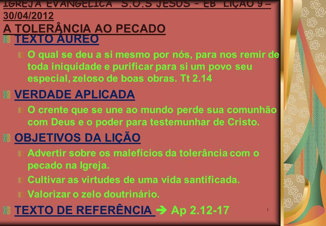 2 AMBIENTE CARREGADO DE PERVERSIDADE.LUGAR DIFÍCIL DE VIVER O CRISTIANISMO.