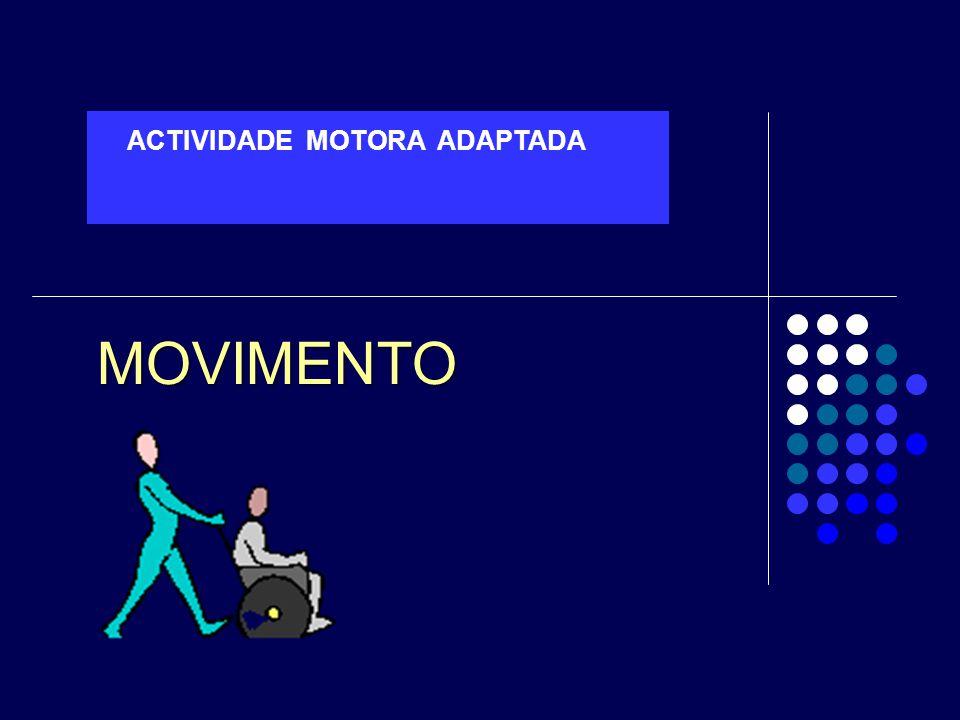 ACTIVIDADE MOTORA ADAPTADA MOVIMENTO