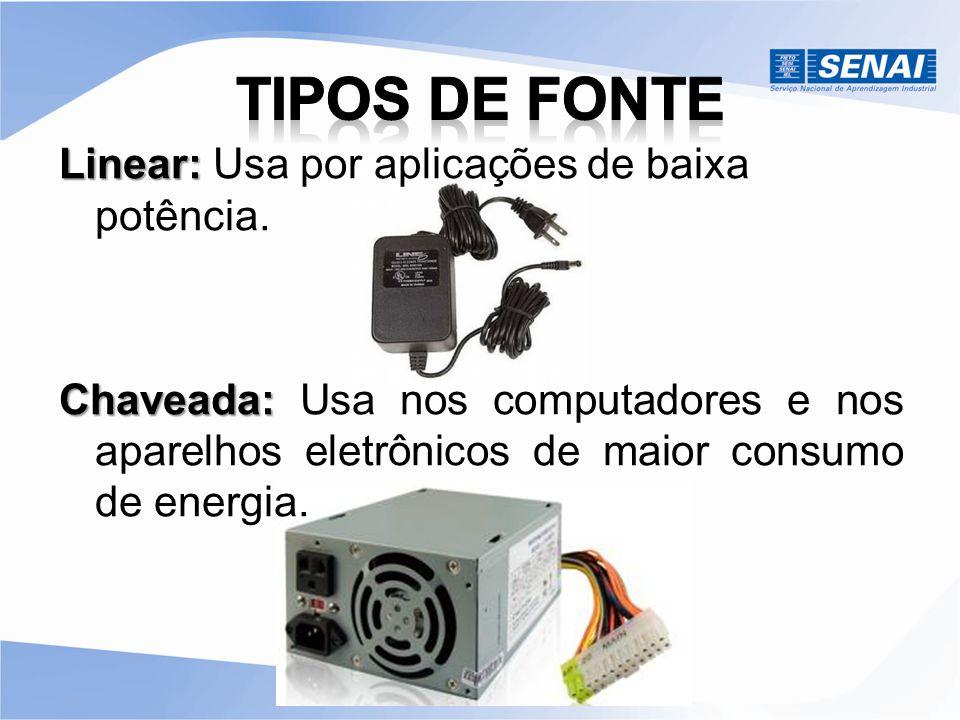 AT ATX O Ventilador interno serve para retirar o ar quente que fica dentro do gabinete