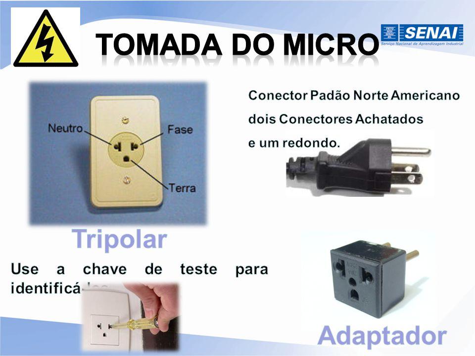 Atualmente no Brasil é usado o padrão ABNT NBR 14136:2002.