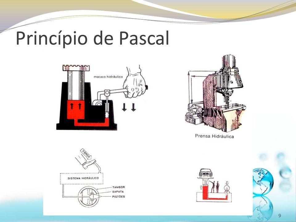 Pressão atmosférica 20 O instrumento utilizado para medir a pressão atmosférica é o barômetro de mercúrio, inventado por Evangelista Torricelli em 1643 Se estiver no nível do mar  h HG = 760 mmHg Em São Paulo, por exemplo, com uma altitude de 820 m, a coluna mede 690 mmHG