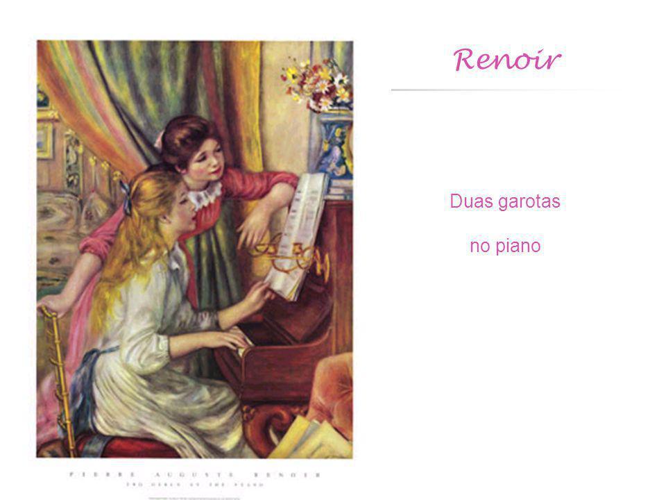 Renoir Duas garotas no piano