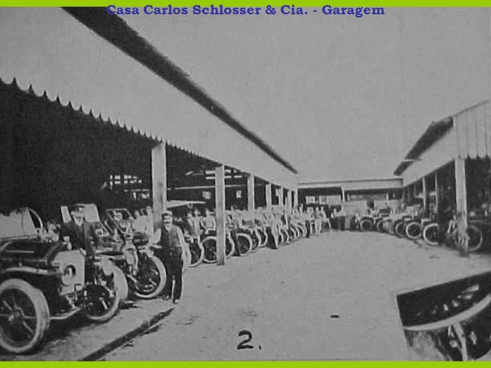 Casa Carlos Schlosser & Cia. - Garagem