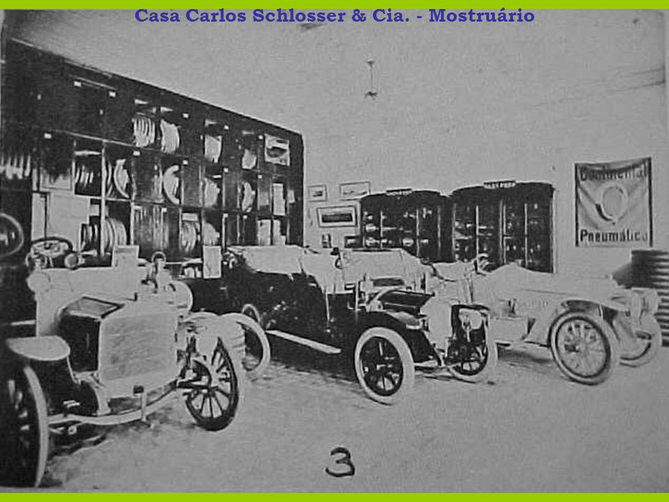Casa Carlos Schlosser & Cia. - Mostruário
