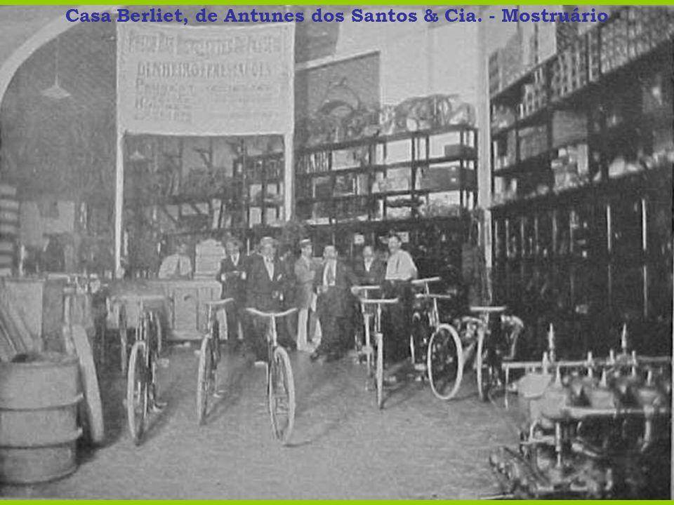 Casa Berliet, de Antunes dos Santos & Cia. - Mostruário